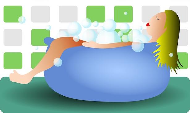 come fare bagno rilassante