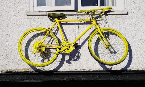 come verniciare bici