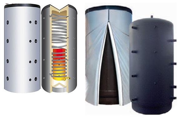 Impianto a pellet con puffer idee green for Impianto produzione pellet usato