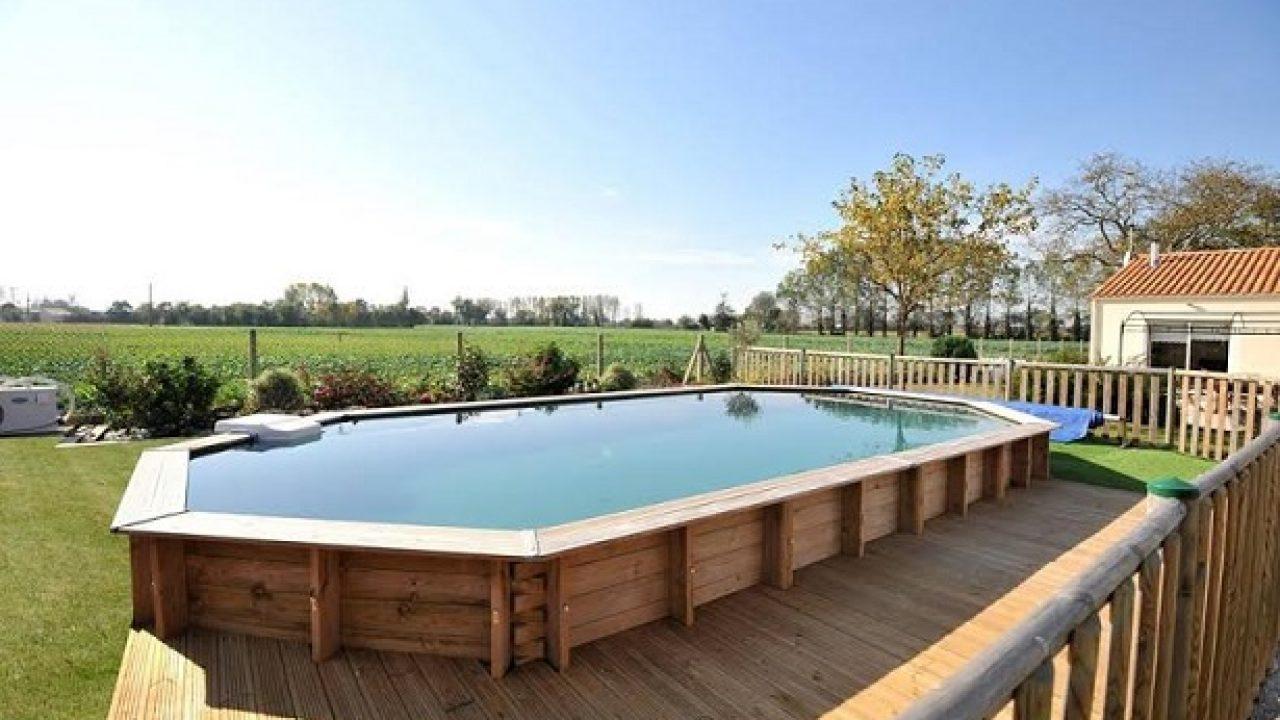 Piscine Da Esterno Rivestite In Legno piscine fuori terra - idee green