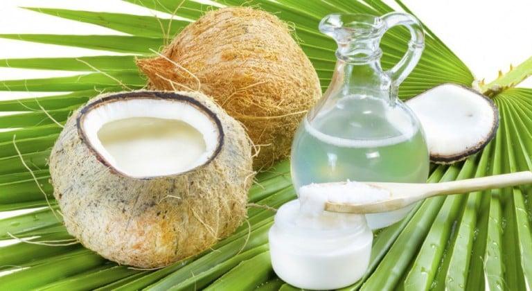 pulizia viso olio di cocco