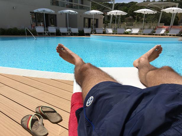 Relax in piscina al Nautilus Family Hotel