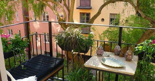 Come arredare un balcone idee green - Decorare il terrazzo ...