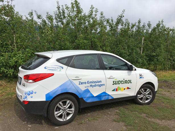 Hyundai ix35 Fuel Cell a idrogeno