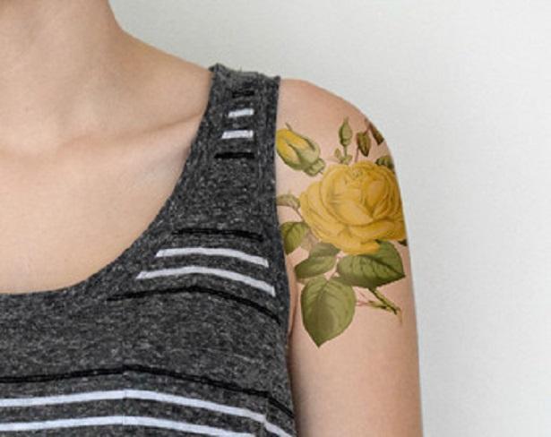 fiore dell'amicizia tatoo