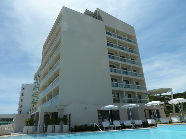 Hotel bioarchitettura Adriatico Nautilus
