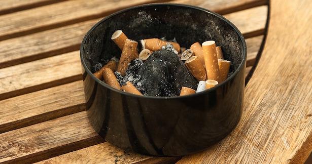 inquinamento da fumo di sigaretta