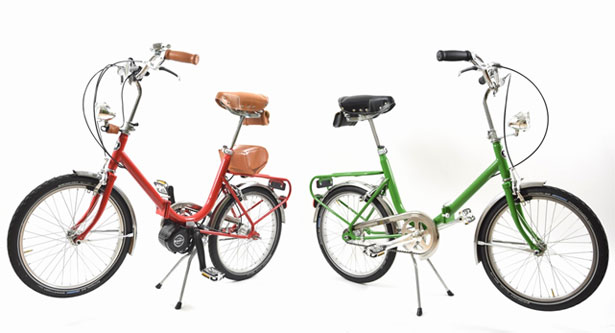 Bici pieghevoli vintage