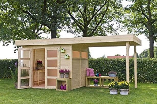 Casette in legno modelli e prezzi idee green - Casette in legno da giardino economiche ...