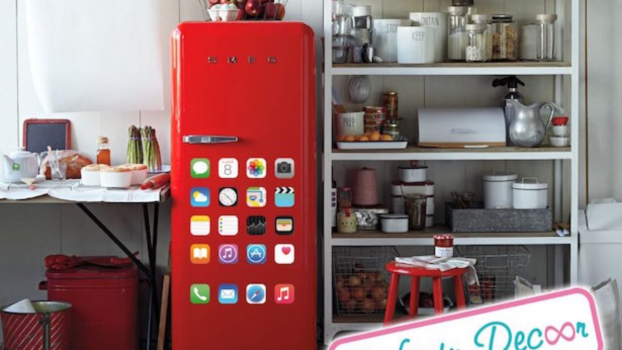 Frigo Smeg Anni 50 Piccolo come rivestire un frigorifero - idee green
