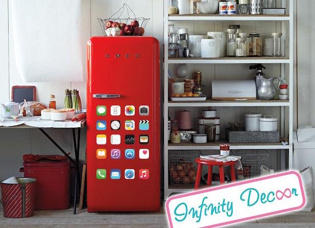 Come rivestire un frigorifero idee green - Pellicole adesive per rivestire mobili ...