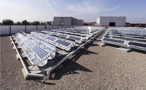 solar cooling domestico