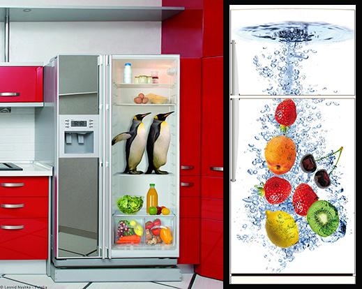 verniciare il frigorifero