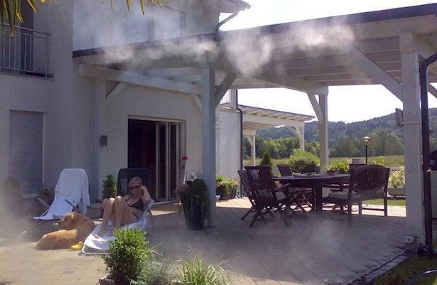 Nebulizzatore da giardino idee green