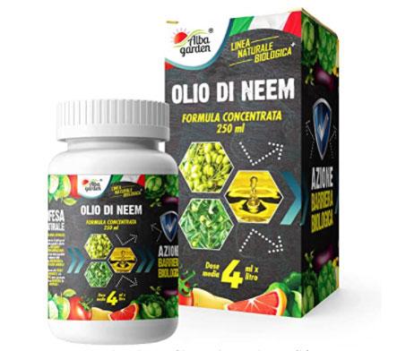 olio di neem concentrato
