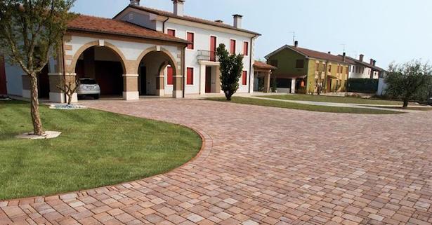 Pavimento esterno posa fai da te - Pavimentazione cortile esterno ...