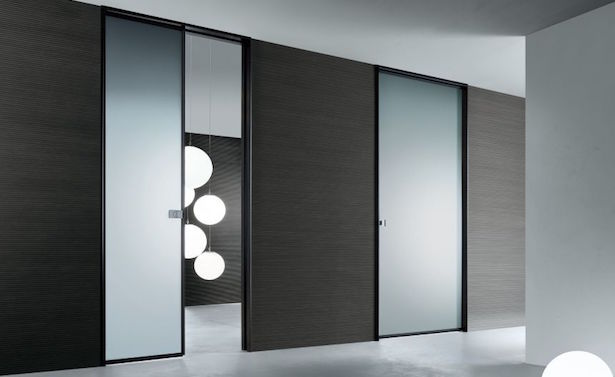 Porta a scomparsa montaggio e consigli idee green - Montare una porta a soffietto ...