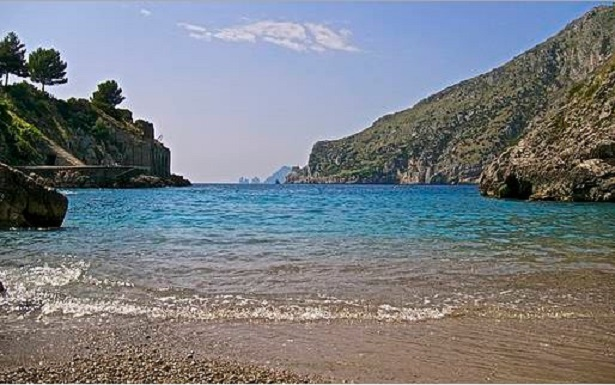 punta campanella spiaggia