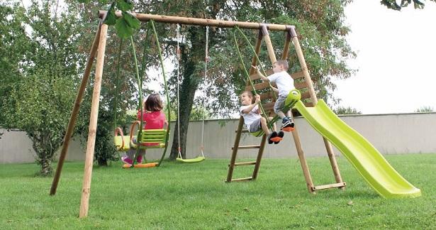 giochi da giardino per bambini idee green