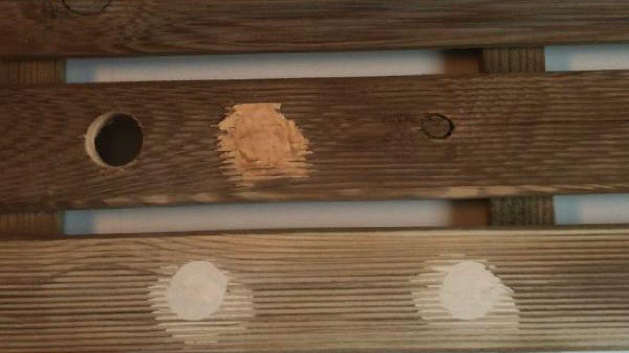 Come Scartavetrare Il Legno come stuccare il legno - idee green