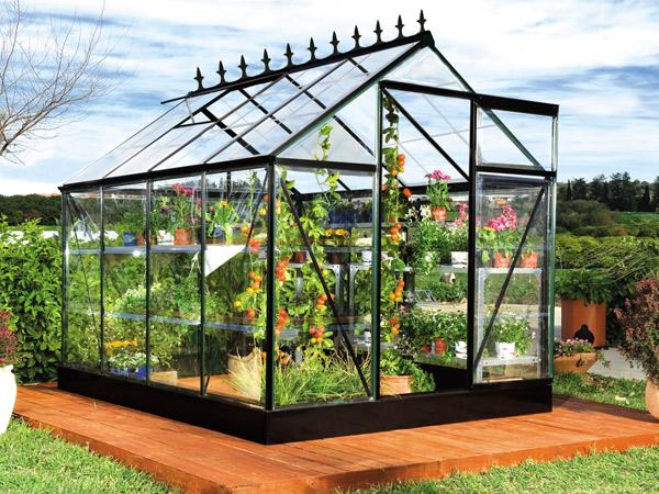 Serra per piante e fiori idee green for Orto pensile fai da te