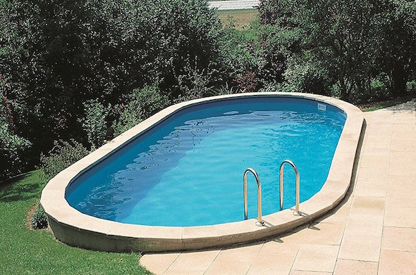 Come costruire una piscina interrata idee green - Costo piscina interrata ...