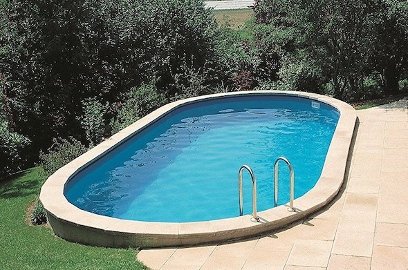 Come costruire una piscina interrata idee green - Piscina interrata costo ...