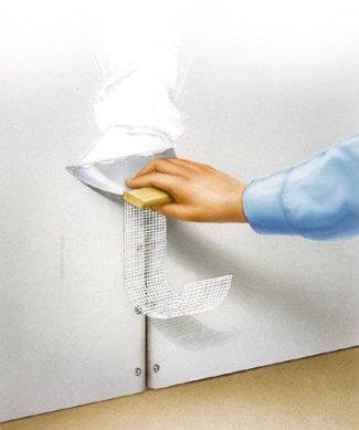 riparare cartongesso bucato