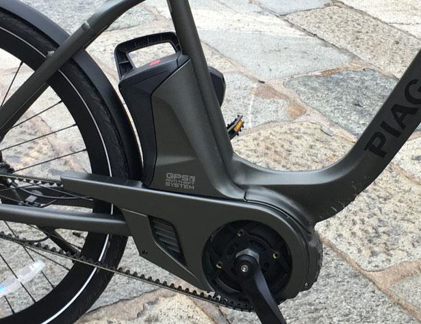 Wi-Bike Piaggio batteria
