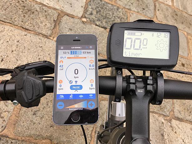 Wi-Bike strumentazione