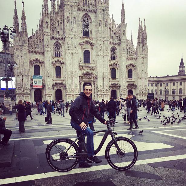 Wibike test al Duomo