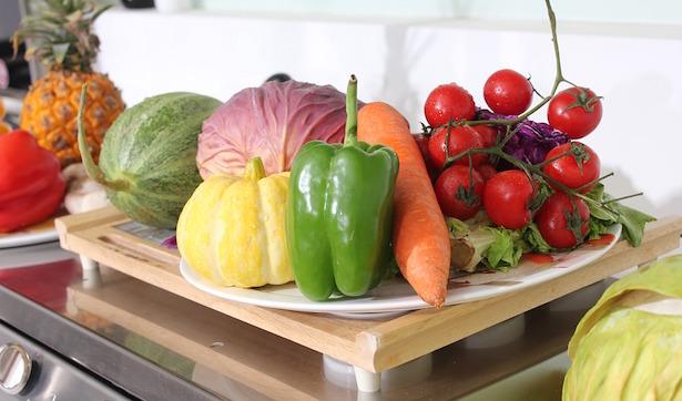 lavare frutta e verdura con acqua e bicarbonato
