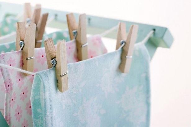 asciugare bucato in casa