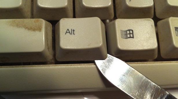 come pulire tastiera