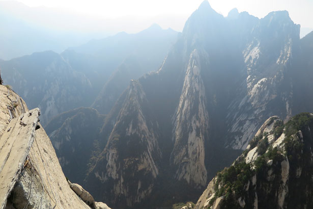 Sentiero monte Hua Shaanxi