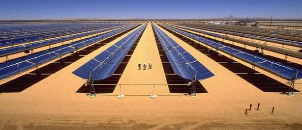 Impianto solare più grande del mondo