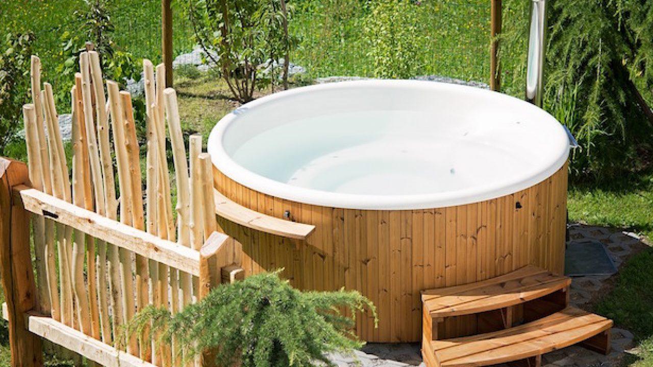 Vasche Idromassaggio Misure E Prezzi vasche idromassaggio da esterno - idee green