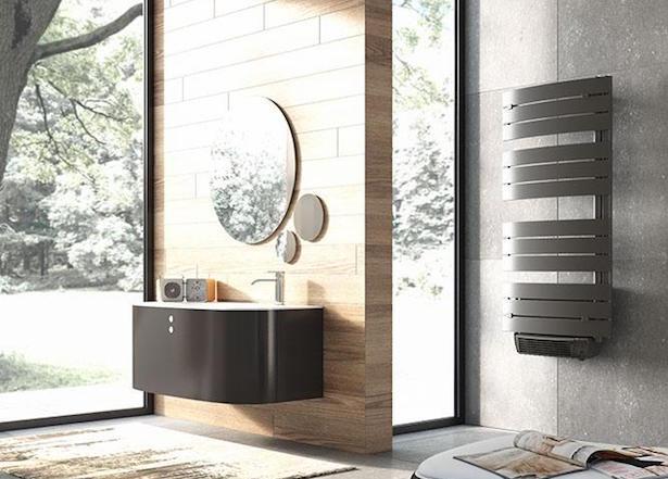 riscaldare il bagno senza termosifoni - idee green - Termosifone Arredo Bagno
