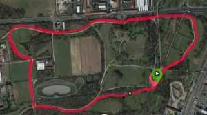 parkrun Parco Nord: percorso