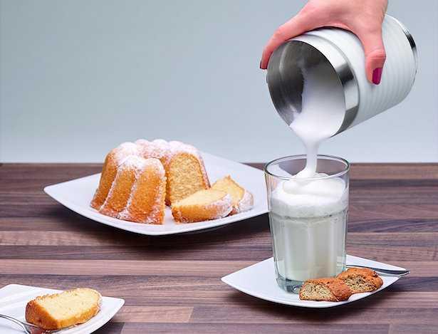 fare latte con schiuma