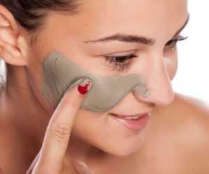 maschera all argilla