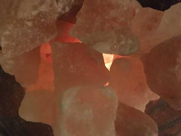 cristalli di sale himalayano