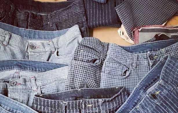 Jeans in cotone biologico