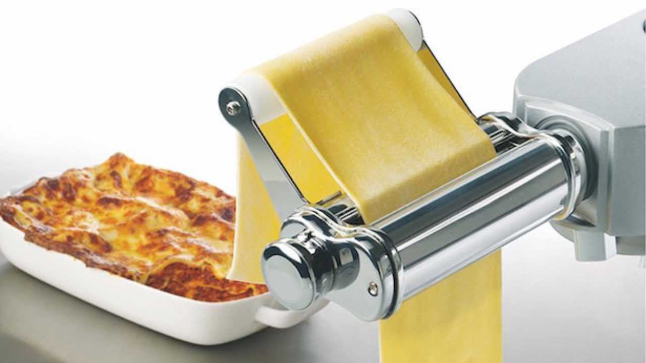 Ricetta Lasagne Kenwood.Pasta Fresca Con Planetaria Idee Green