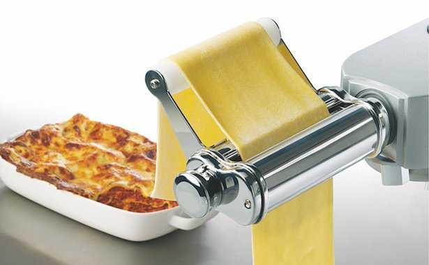 Pasta fresca con planetaria