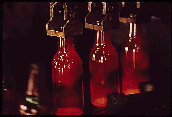 produzione del vetro