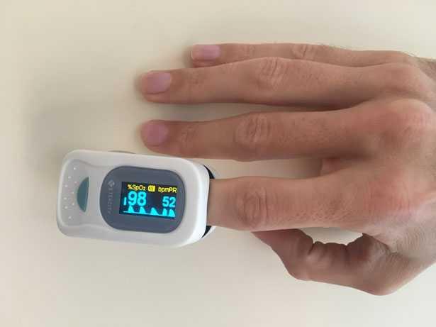 Pulsossimetro da dito