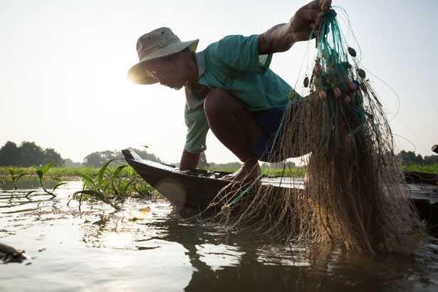 Mekong Delta - Vietnam - water grabbing