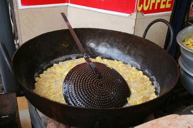Puzza di frittura in casa