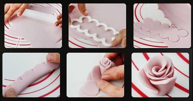 come fare rose con pasta da zucchero fai da te